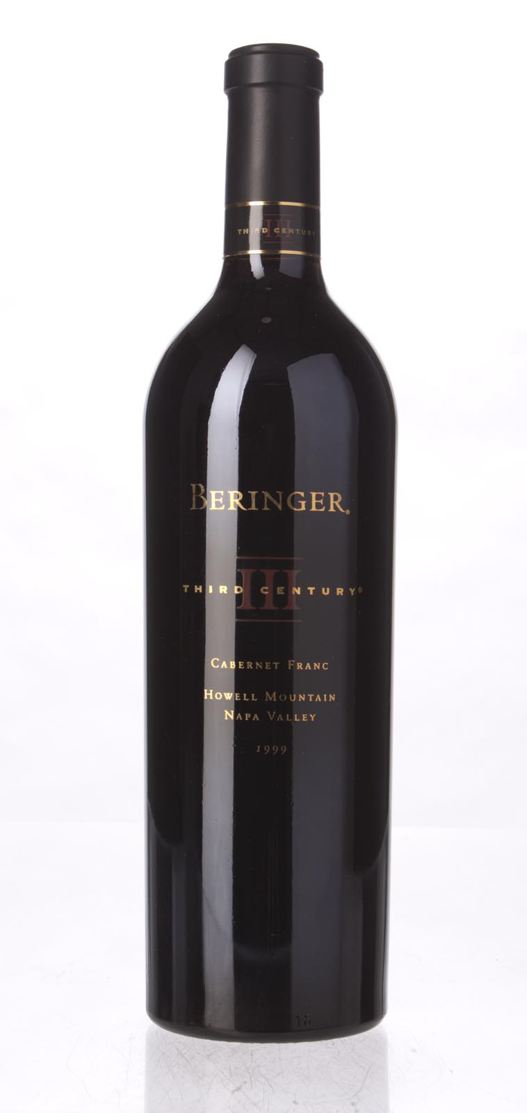 Beringer Cabernet Franc Third Century 1999, 750mL () from The BPW - Merchants of rare and fine wines.