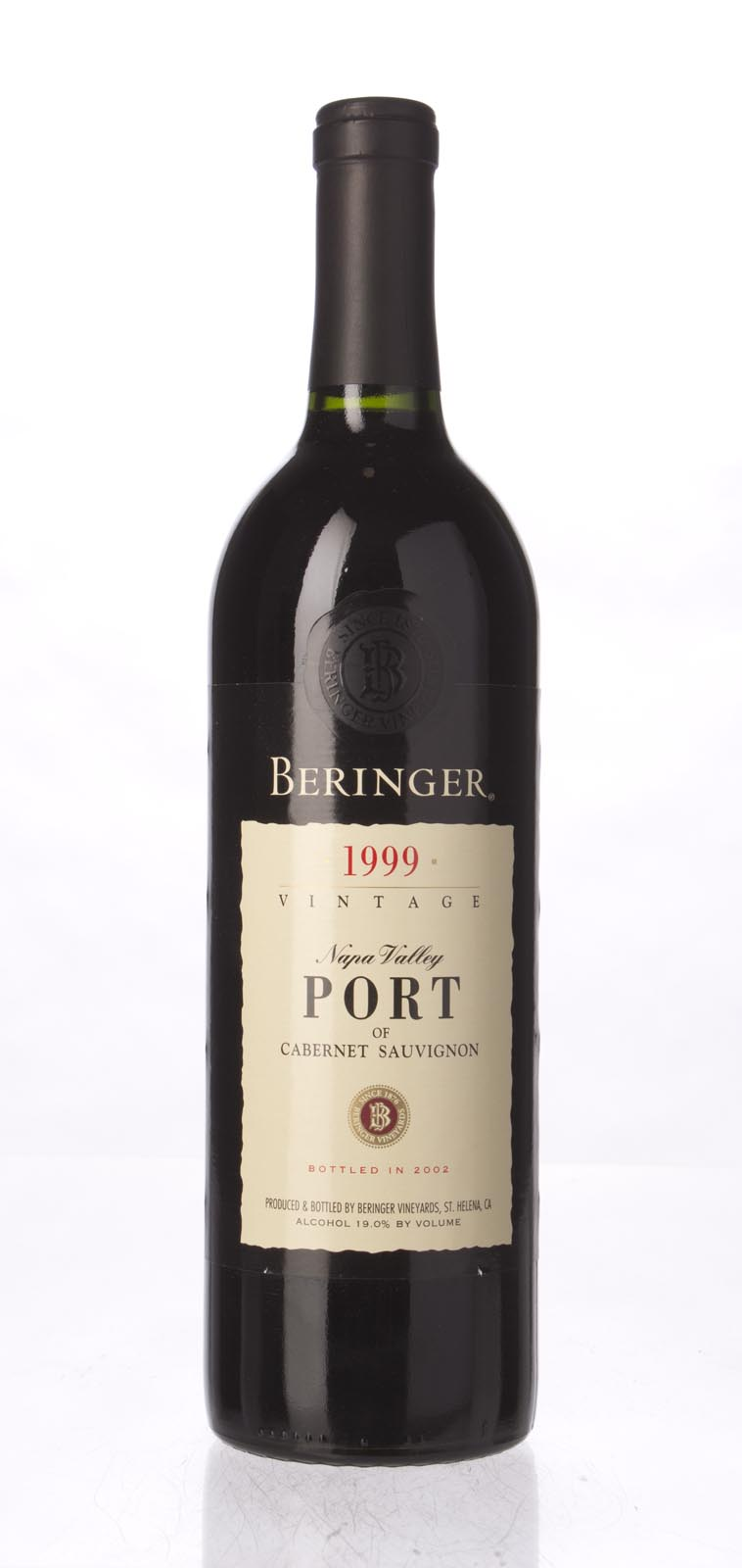 Beringer Cabernet Port 1999, 750mL () from The BPW - Merchants of rare and fine wines.