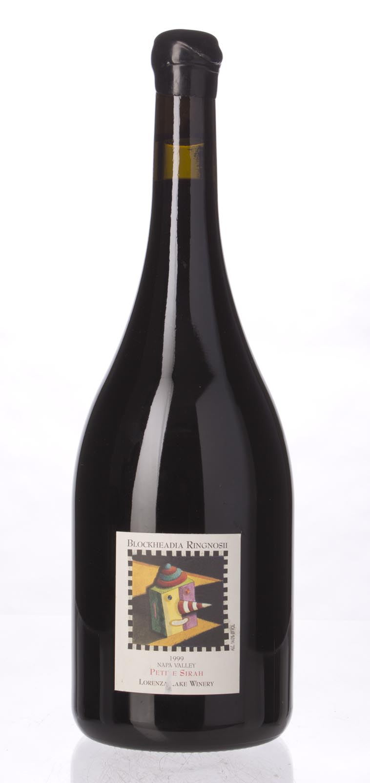 Blockheadia Ringnosi Petite Sirah Lorenza Lake Winery 1999, 1.5L () from The BPW - Merchants of rare and fine wines.
