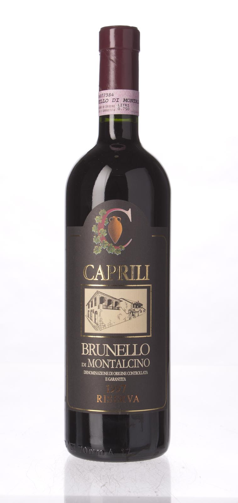 Caprili Brunello di Montalcino Riserva 1997, 750mL (WS95) from The BPW - Merchants of rare and fine wines.