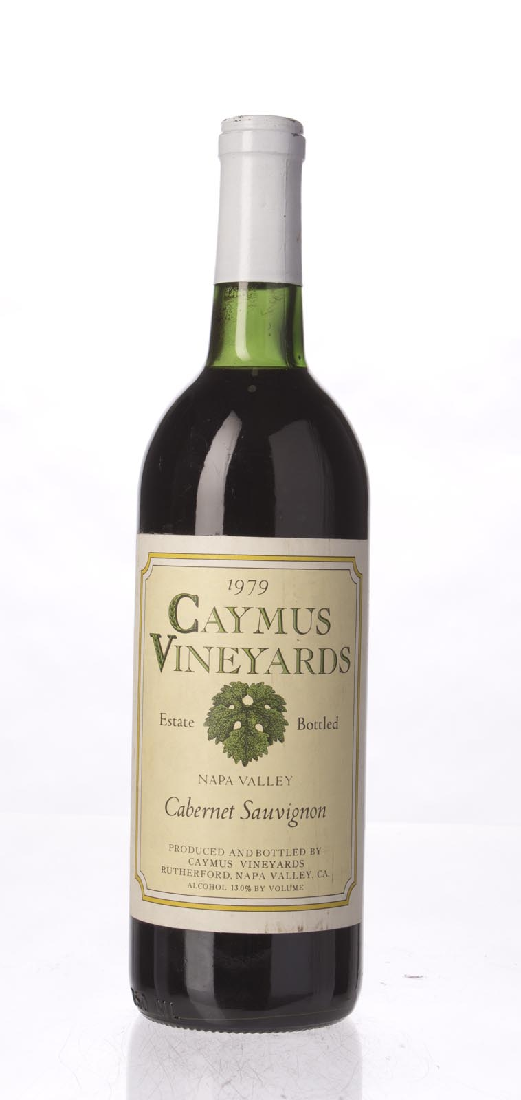 Caymus Cabernet Sauvignon Napa Valley 1979, 750mL () from The BPW - Merchants of rare and fine wines.
