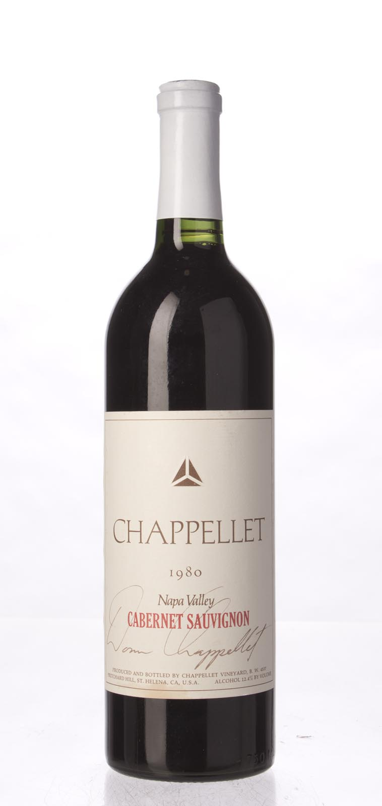 Chappellet Cabernet Sauvignon 1980,  () from The BPW - Merchants of rare and fine wines.
