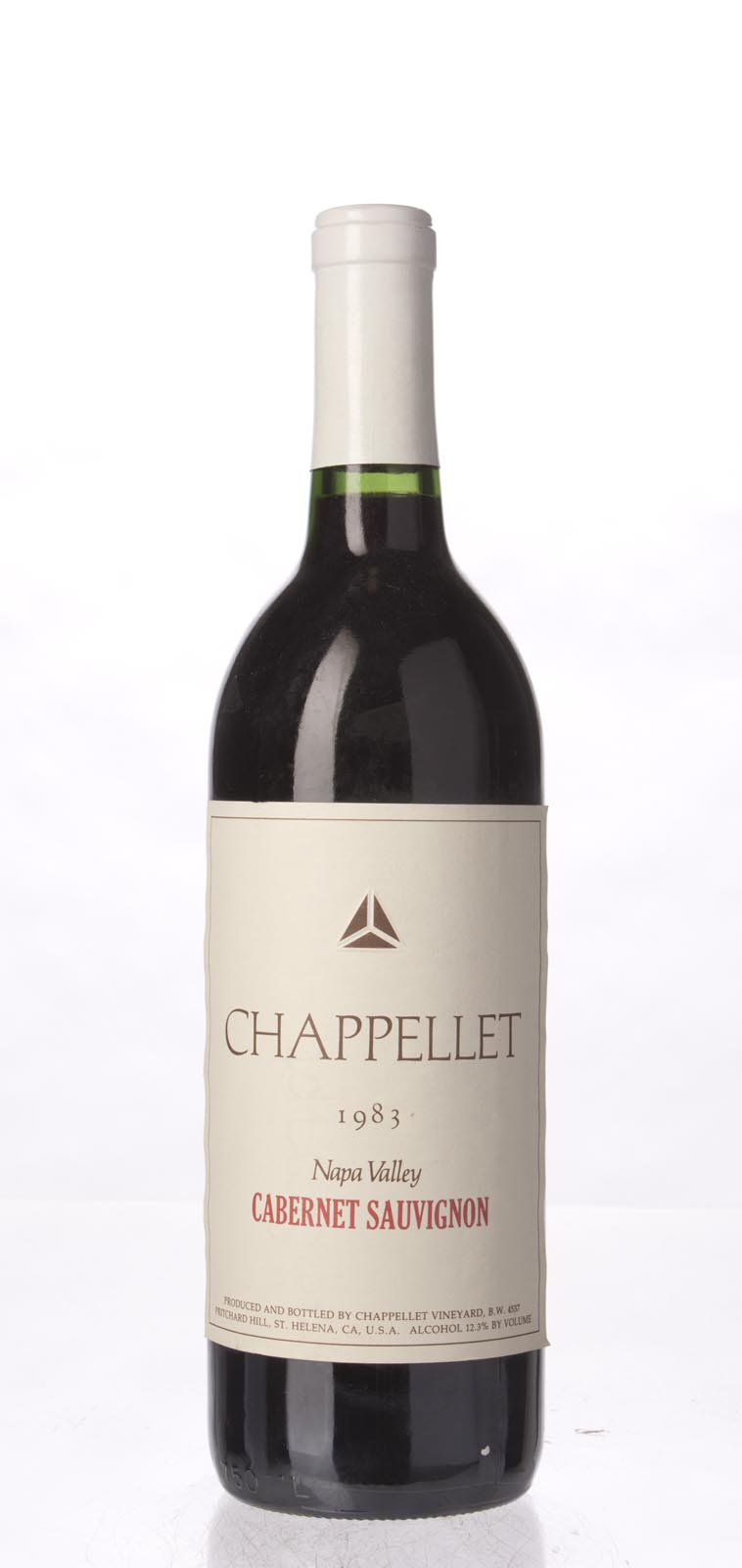 Chappellet Cabernet Sauvignon Napa Valley 1983, 750mL () from The BPW - Merchants of rare and fine wines.