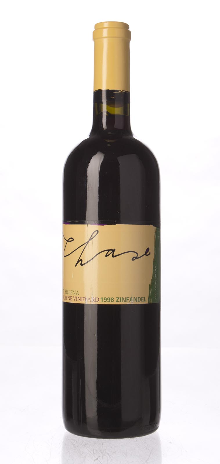 Chase Zinfandel Hayne Vineyard 1998, 750mL () from The BPW - Merchants of rare and fine wines.