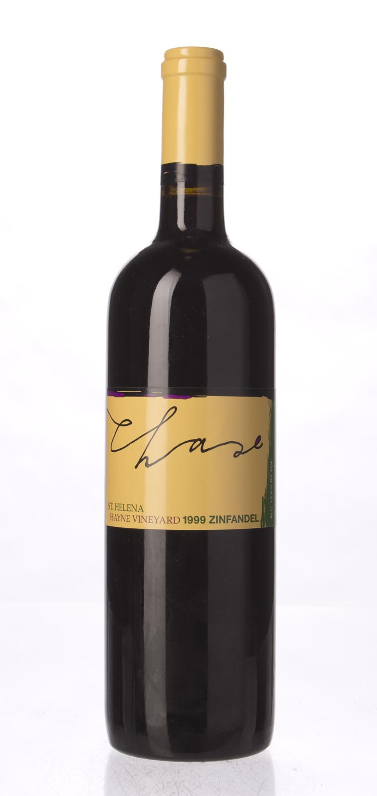 Chase Zinfandel Hayne Vineyard 1999, 750mL () from The BPW - Merchants of rare and fine wines.