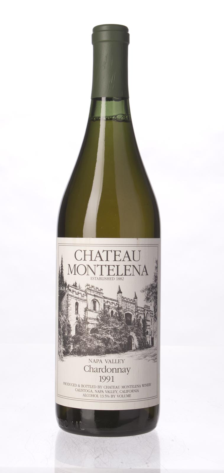 Chateau Montelena Chardonnay Napa Valley Estate 1991, 750mL (WA90) from The BPW - Merchants of rare and fine wines.