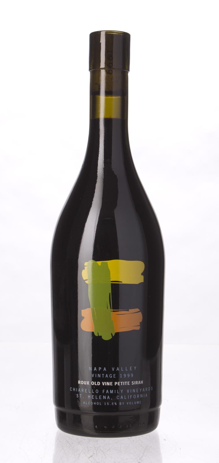 Chiarello Family Vineyards Petite Sirah Roux Old Vine 1999, 750mL (WS92) from The BPW - Merchants of rare and fine wines.