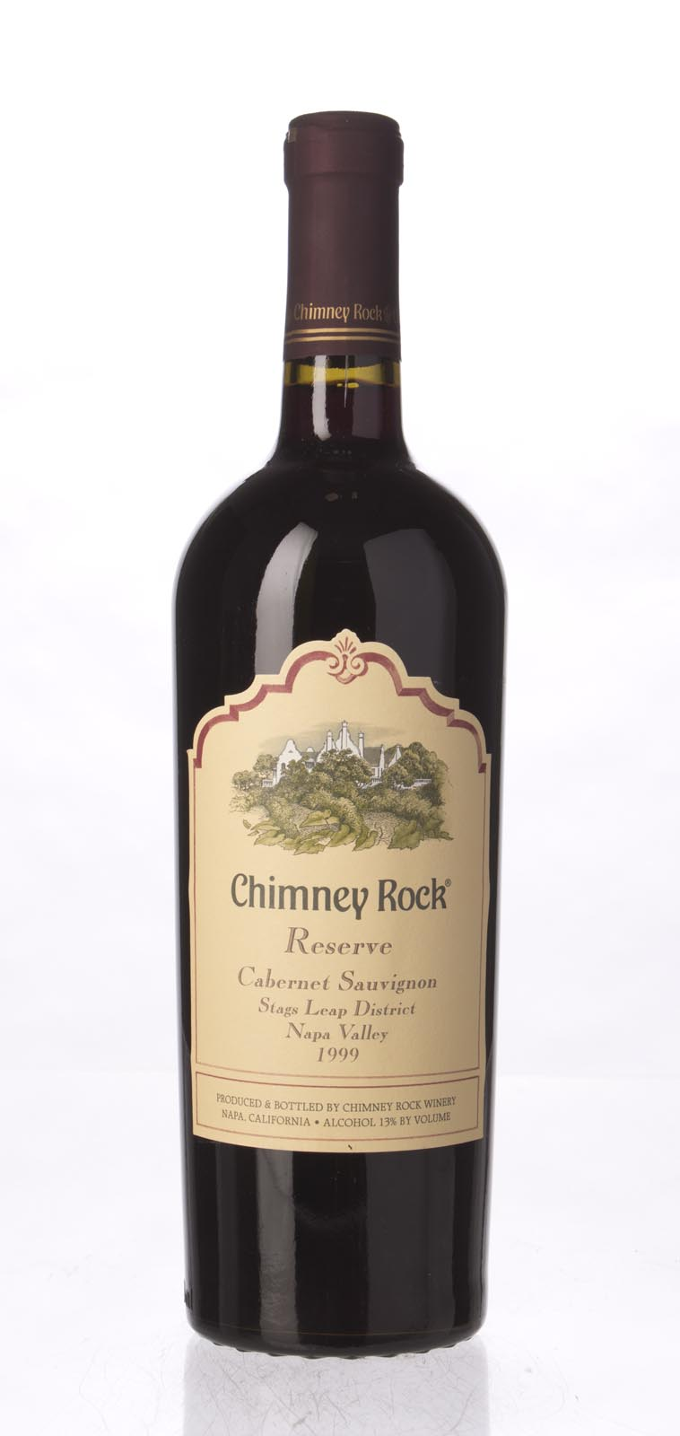 Chimney Rock Cabernet Sauvignon Reserve 1999, 750mL (WS92) from The BPW - Merchants of rare and fine wines.
