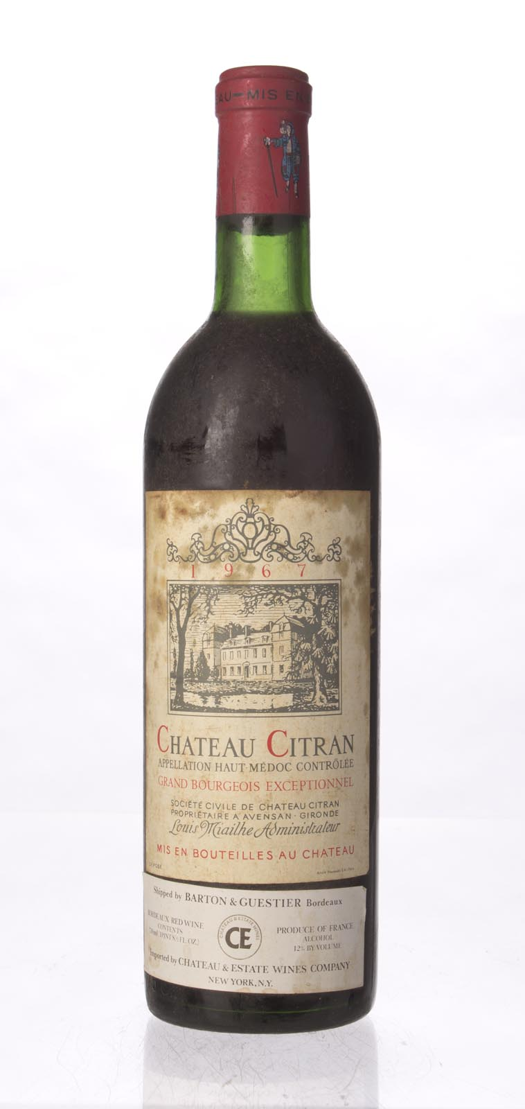 Citran 1967, 750mL () from The BPW - Merchants of rare and fine wines.