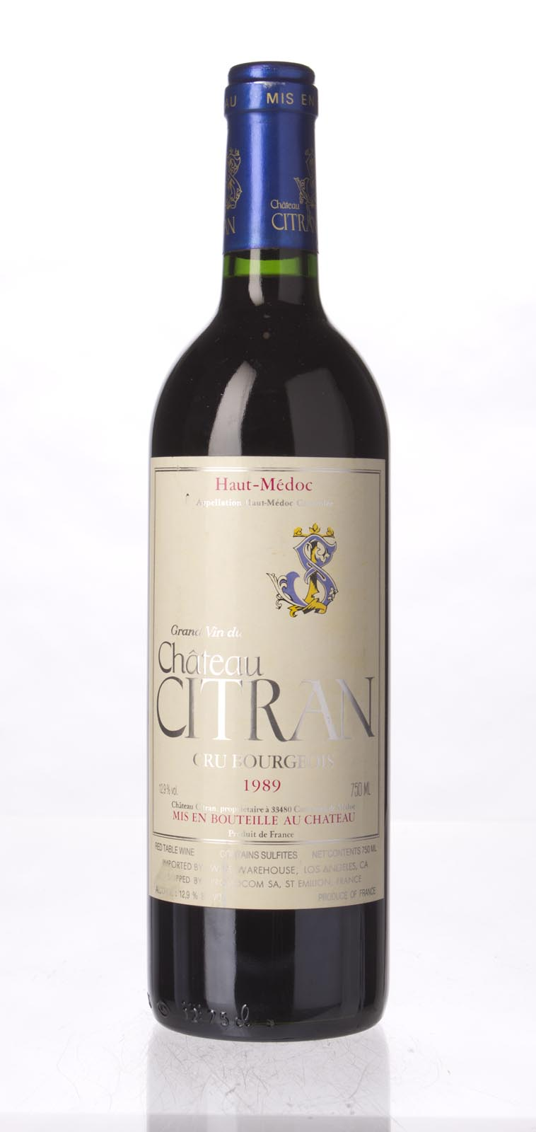 Citran 1989, 750mL (WS93) from The BPW - Merchants of rare and fine wines.