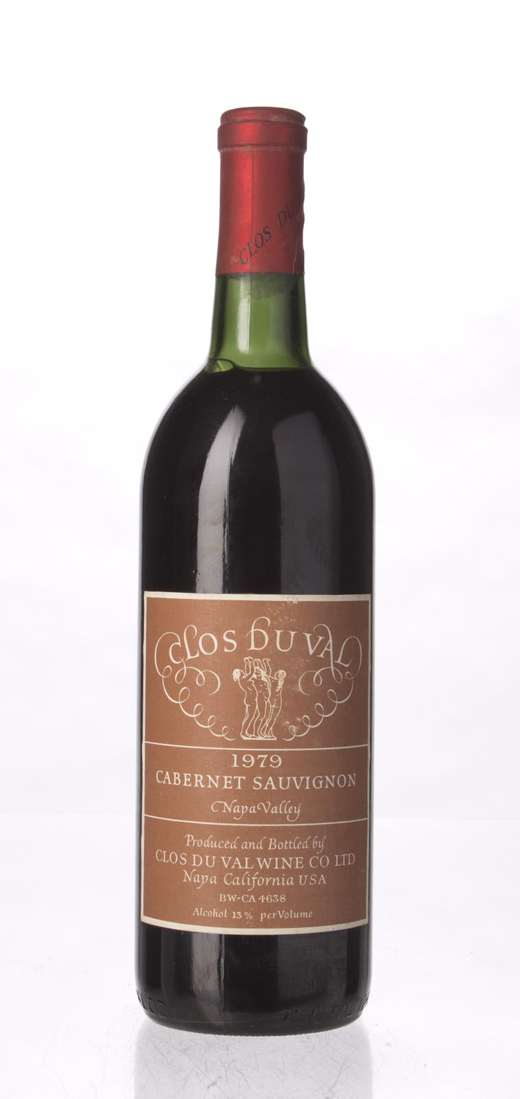 Clos du Val Cabernet Sauvignon Stag`s Leap District 1979, 750mL (WS93) from The BPW - Merchants of rare and fine wines.