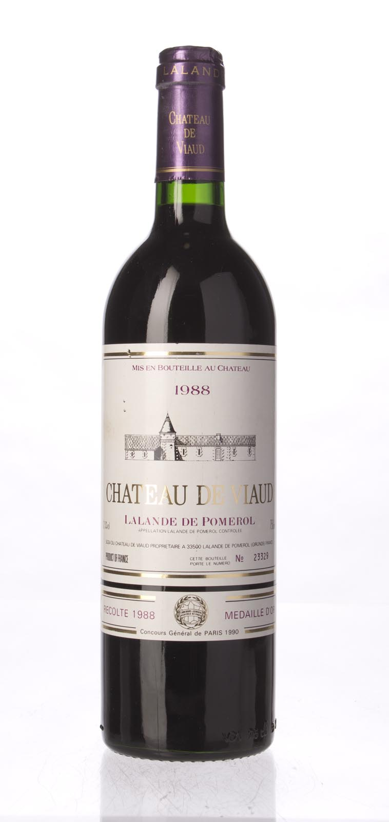 de Viaud 1988, 750ml () from The BPW - Merchants of rare and fine wines.