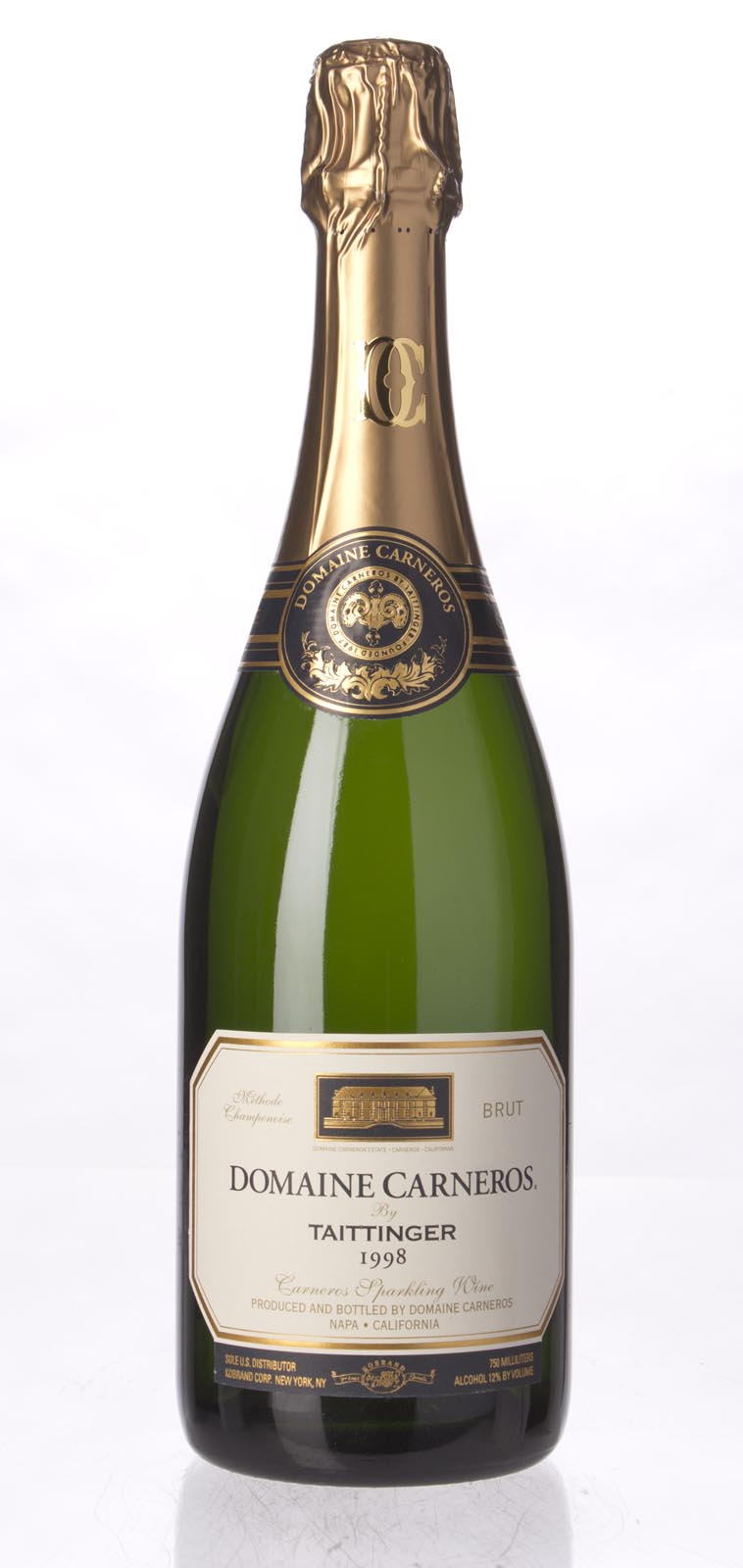 Domaine Carneros Brut 1998, 750mL () from The BPW - Merchants of rare and fine wines.