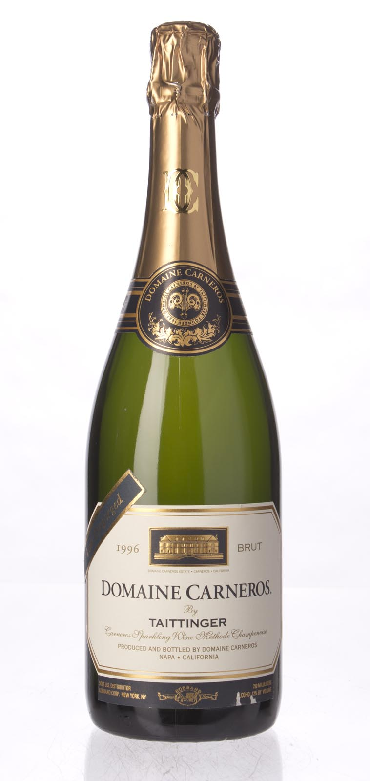 Domaine Carneros Brut Late Disgorged 1996, 750mL () from The BPW - Merchants of rare and fine wines.