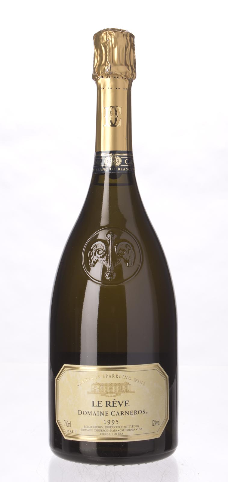 Domaine Carneros Le Reve 1995, 750mL () from The BPW - Merchants of rare and fine wines.