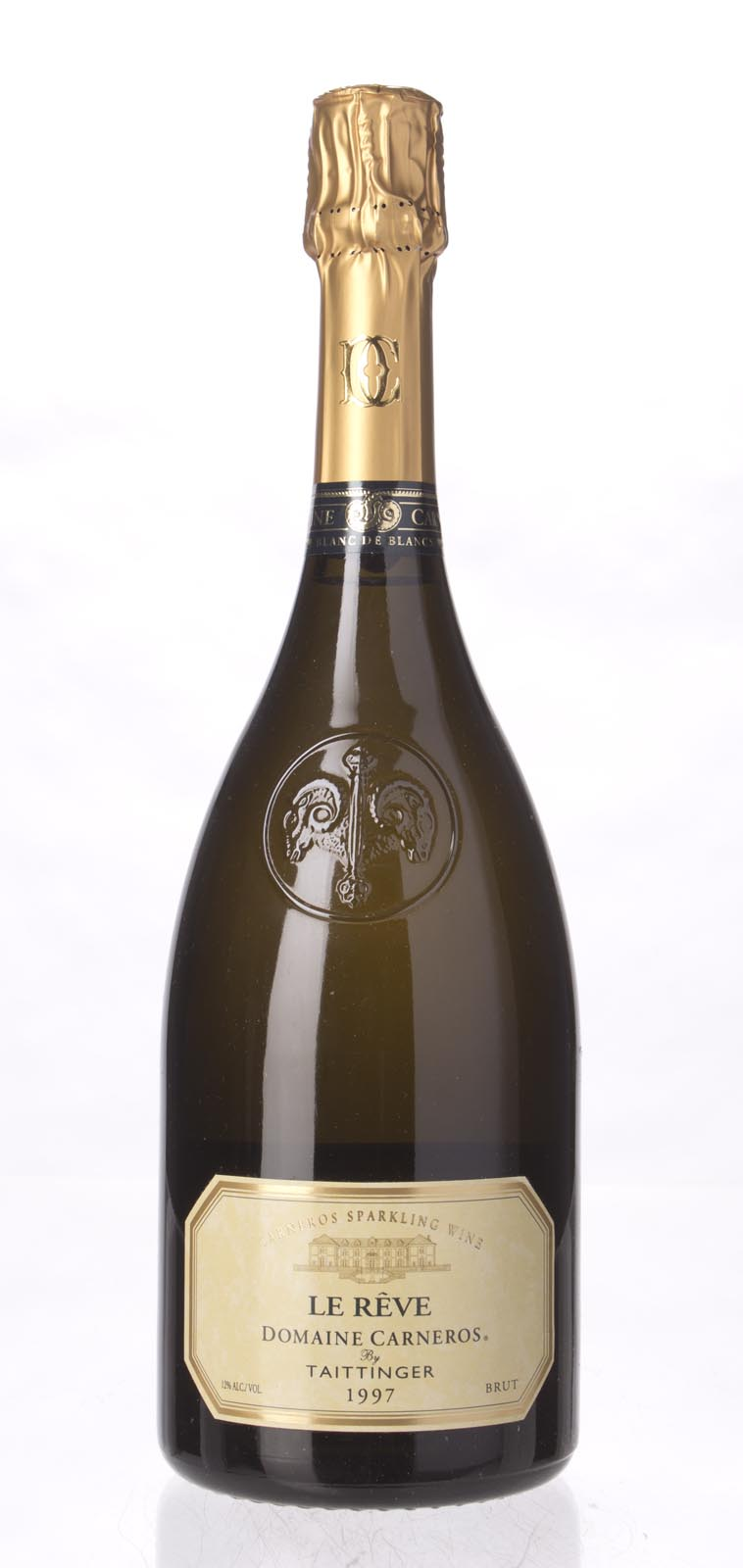 Domaine Carneros Le Reve 1997, 750mL (WS91) from The BPW - Merchants of rare and fine wines.