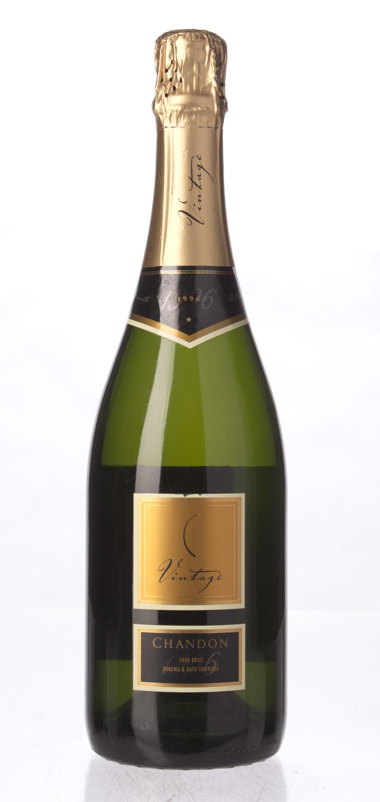 Domaine Chandon Brut 1996, 750mL () from The BPW - Merchants of rare and fine wines.