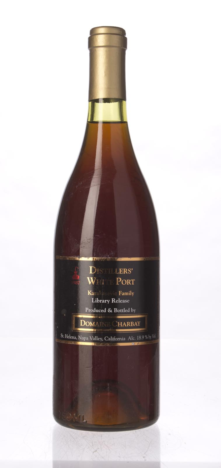 Domaine Charbay Distiller`s White Port Karakasevtch Library Release 1987, 750mL () from The BPW - Merchants of rare and fine wines.