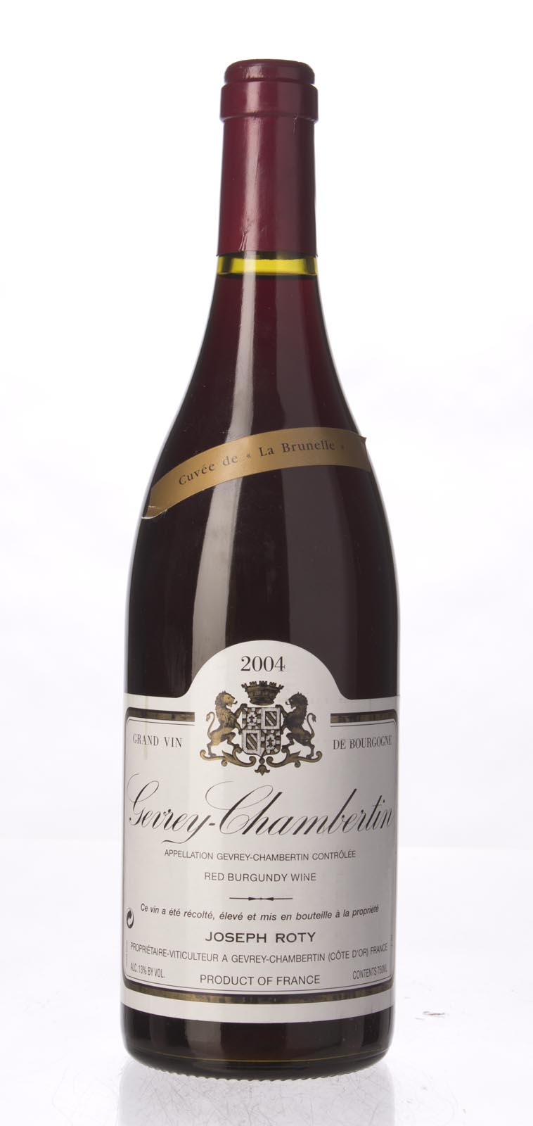 Domaine Joseph Roty Gevrey Chambertin la Brunelle 2004, 750ml (ST89) from The BPW - Merchants of rare and fine wines.