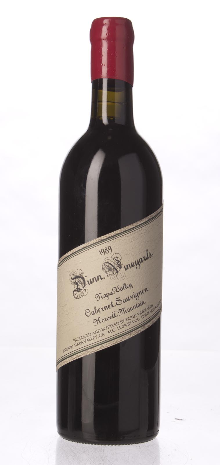 Dunn Cabernet Sauvignon Howell Mountain 1989, 750mL (WS92) from The BPW - Merchants of rare and fine wines.