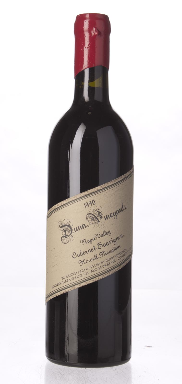 Dunn Cabernet Sauvignon Howell Mountain 1990, 750mL (WA96, WS91) from The BPW - Merchants of rare and fine wines.