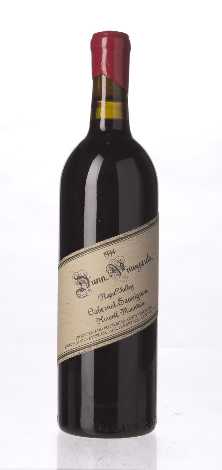 Dunn Cabernet Sauvignon Howell Mountain 1994, 750mL (WA96) from The BPW - Merchants of rare and fine wines.