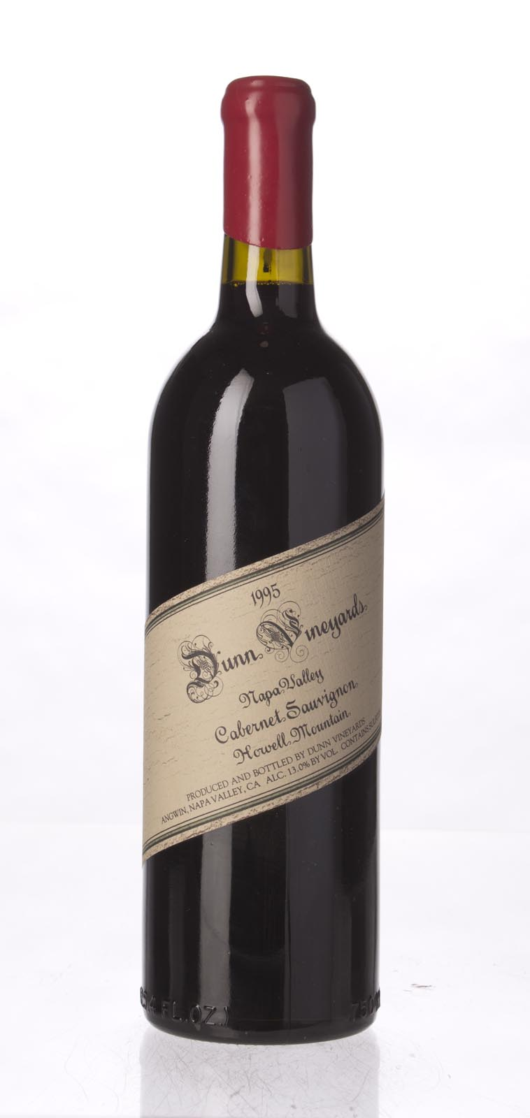 Dunn Cabernet Sauvignon Howell Mountain 1995, 750mL (WA96) from The BPW - Merchants of rare and fine wines.