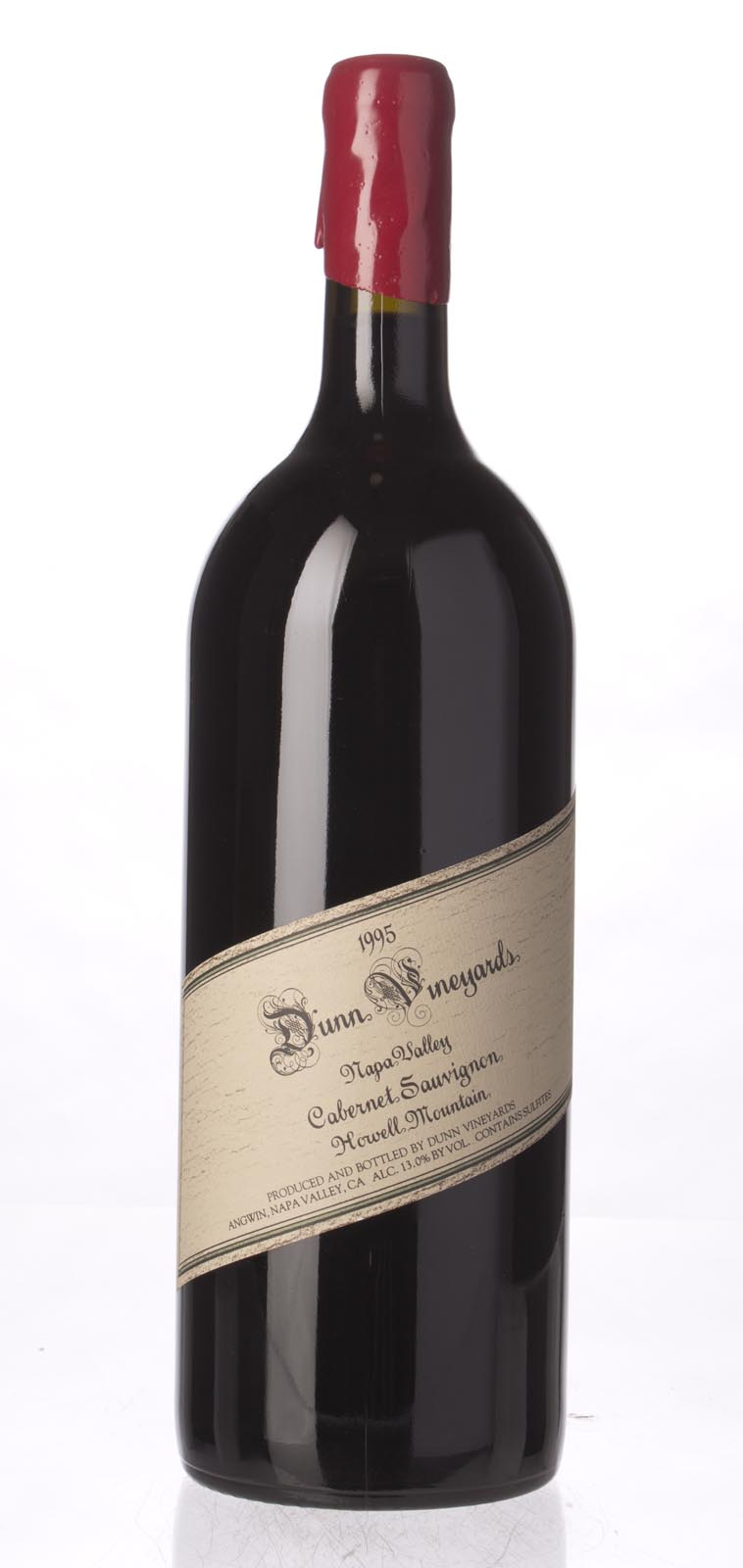 Dunn Cabernet Sauvignon Howell Mountain 1995, 1.5L (WA96) from The BPW - Merchants of rare and fine wines.