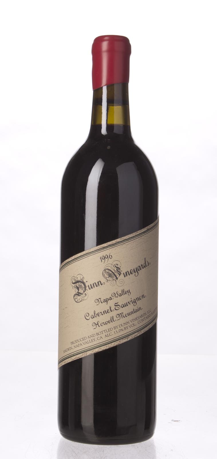 Dunn Cabernet Sauvignon Howell Mountain 1996, 750mL (WA96, WS95) from The BPW - Merchants of rare and fine wines.