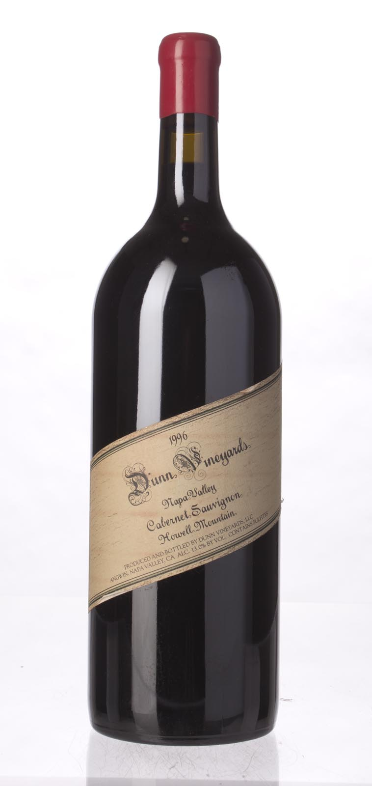 Dunn Cabernet Sauvignon Howell Mountain 1996, 1.5L (WA96, WS95) from The BPW - Merchants of rare and fine wines.