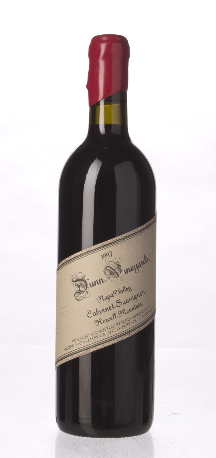 Dunn Cabernet Sauvignon Howell Mountain 1997, 750mL (WA95) from The BPW - Merchants of rare and fine wines.