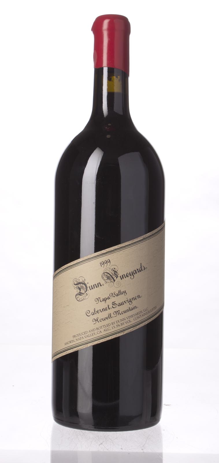 Dunn Cabernet Sauvignon Howell Mountain 1999, 1.5L (WA90-93, WS93) from The BPW - Merchants of rare and fine wines.