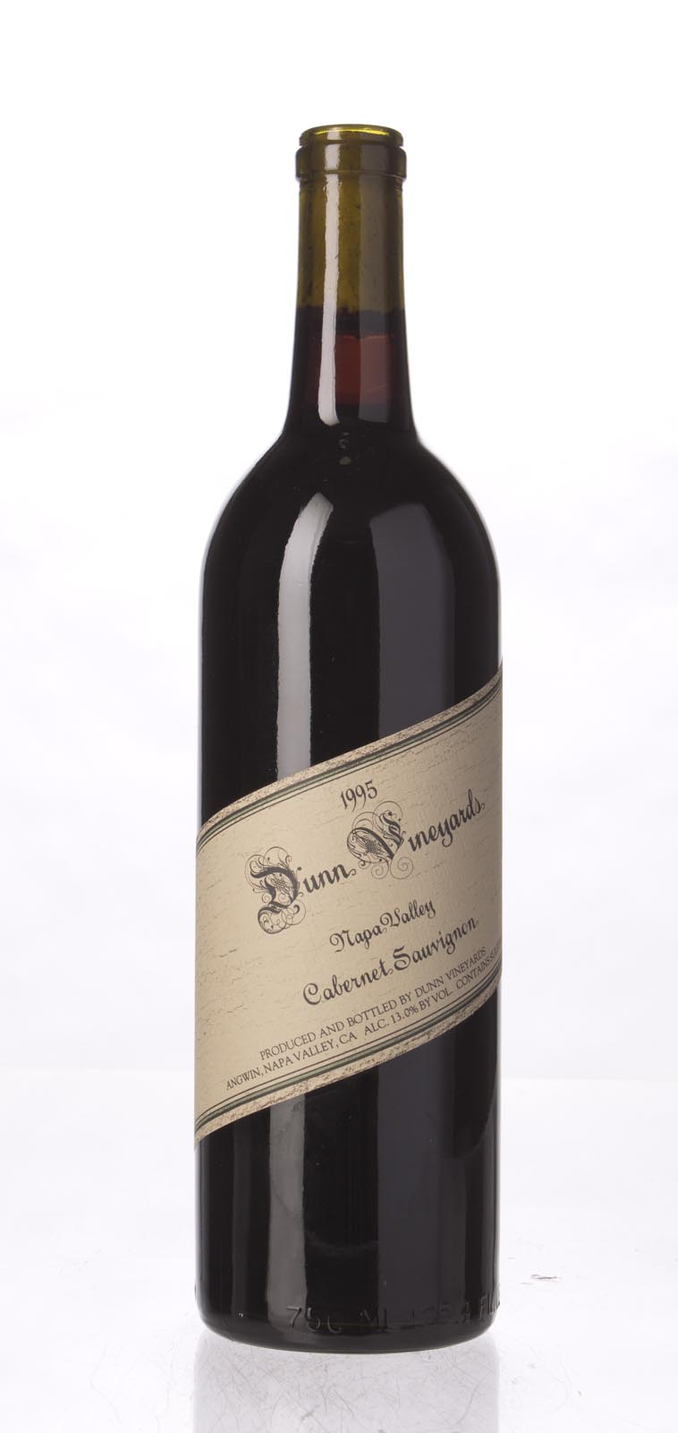 Dunn Cabernet Sauvignon Napa Valley 1995, 750mL (WA94) from The BPW - Merchants of rare and fine wines.