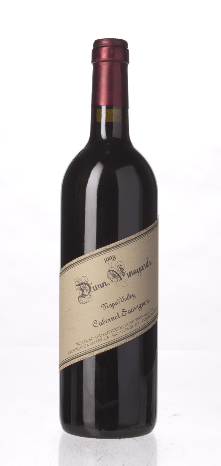 Dunn Cabernet Sauvignon Napa Valley 1998, 750mL () from The BPW - Merchants of rare and fine wines.