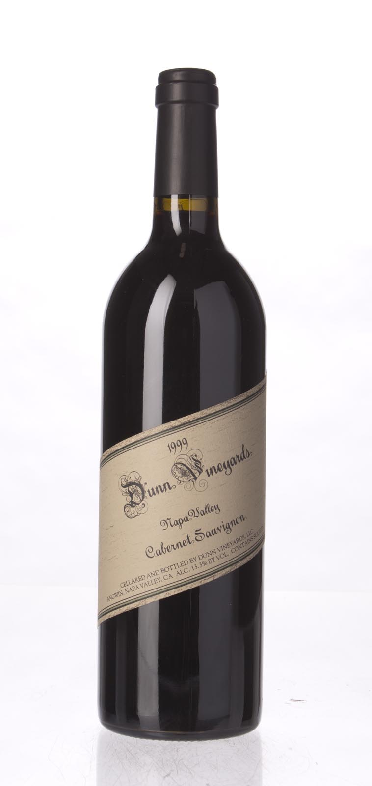 Dunn Cabernet Sauvignon Napa Valley 1999, 750mL () from The BPW - Merchants of rare and fine wines.