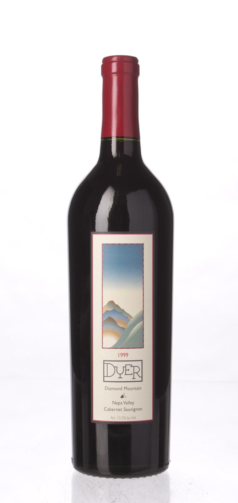 Dyer Cabernet Sauvignon Diamond Mountain 1999, 750mL () from The BPW - Merchants of rare and fine wines.