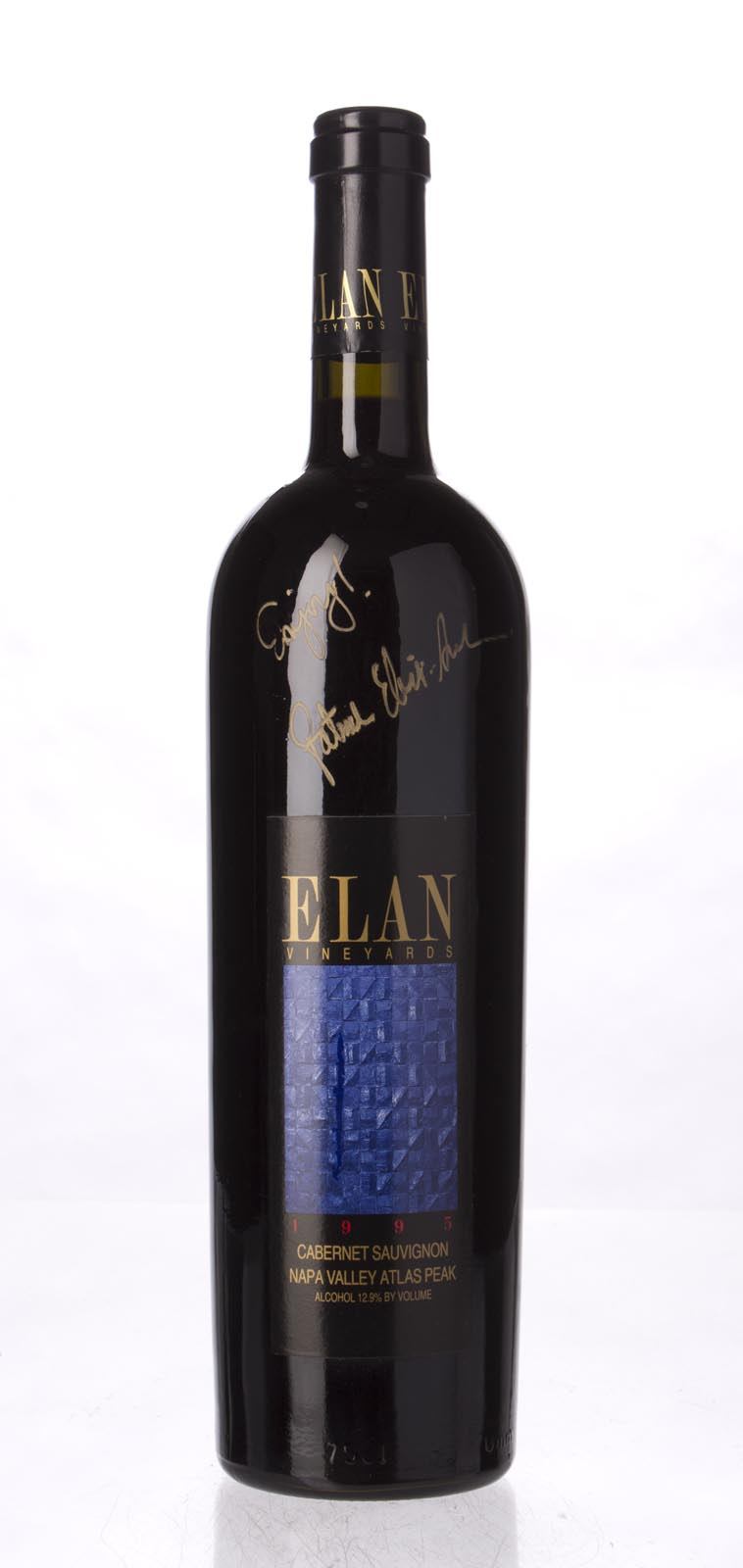 Elan Vineyards Cabernet Sauvignon Atlas Peak 1995, 750mL () from The BPW - Merchants of rare and fine wines.