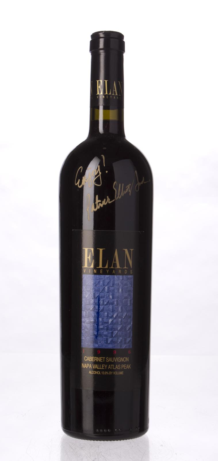 Elan Vineyards Cabernet Sauvignon Atlas Peak 1996, 750mL () from The BPW - Merchants of rare and fine wines.