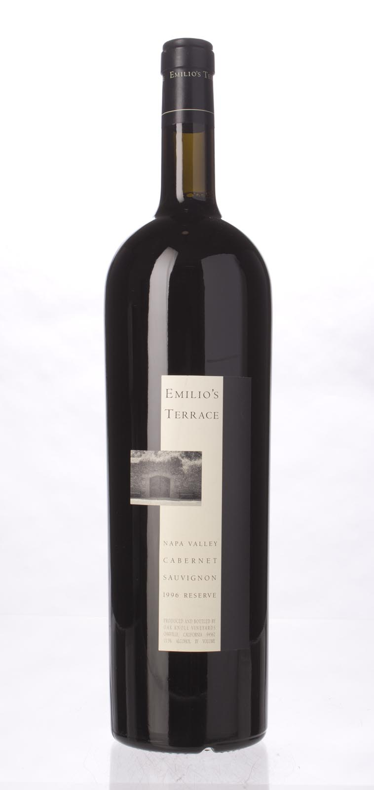 Emilio`s Terrace Cabernet Sauvignon Reserve 1996, 1.5L (WS92) from The BPW - Merchants of rare and fine wines.