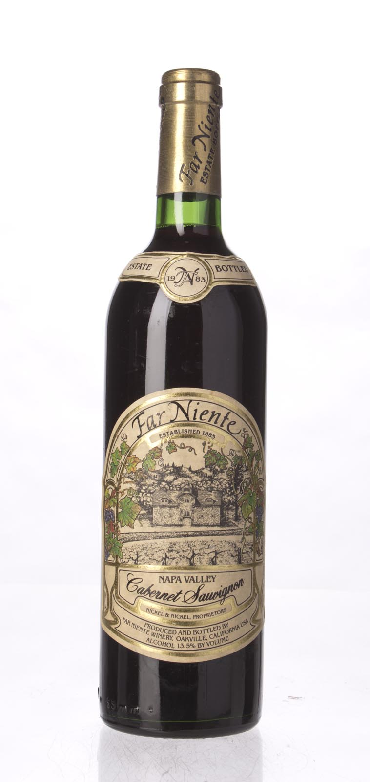 Far Niente Cabernet Sauvignon 1983, 750mL (WS93) from The BPW - Merchants of rare and fine wines.