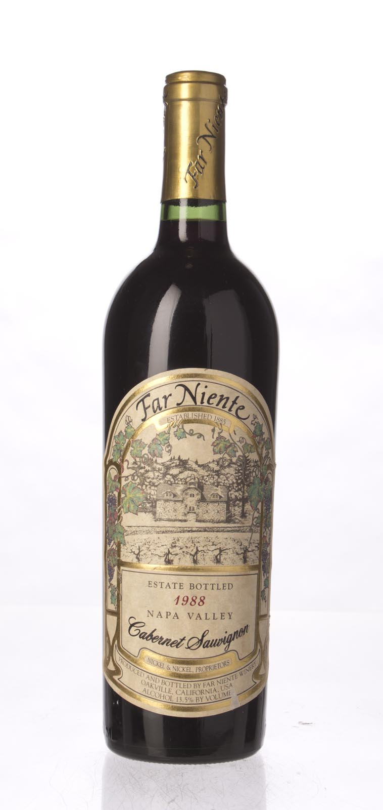 Far Niente Cabernet Sauvignon 1988, 750mL () from The BPW - Merchants of rare and fine wines.