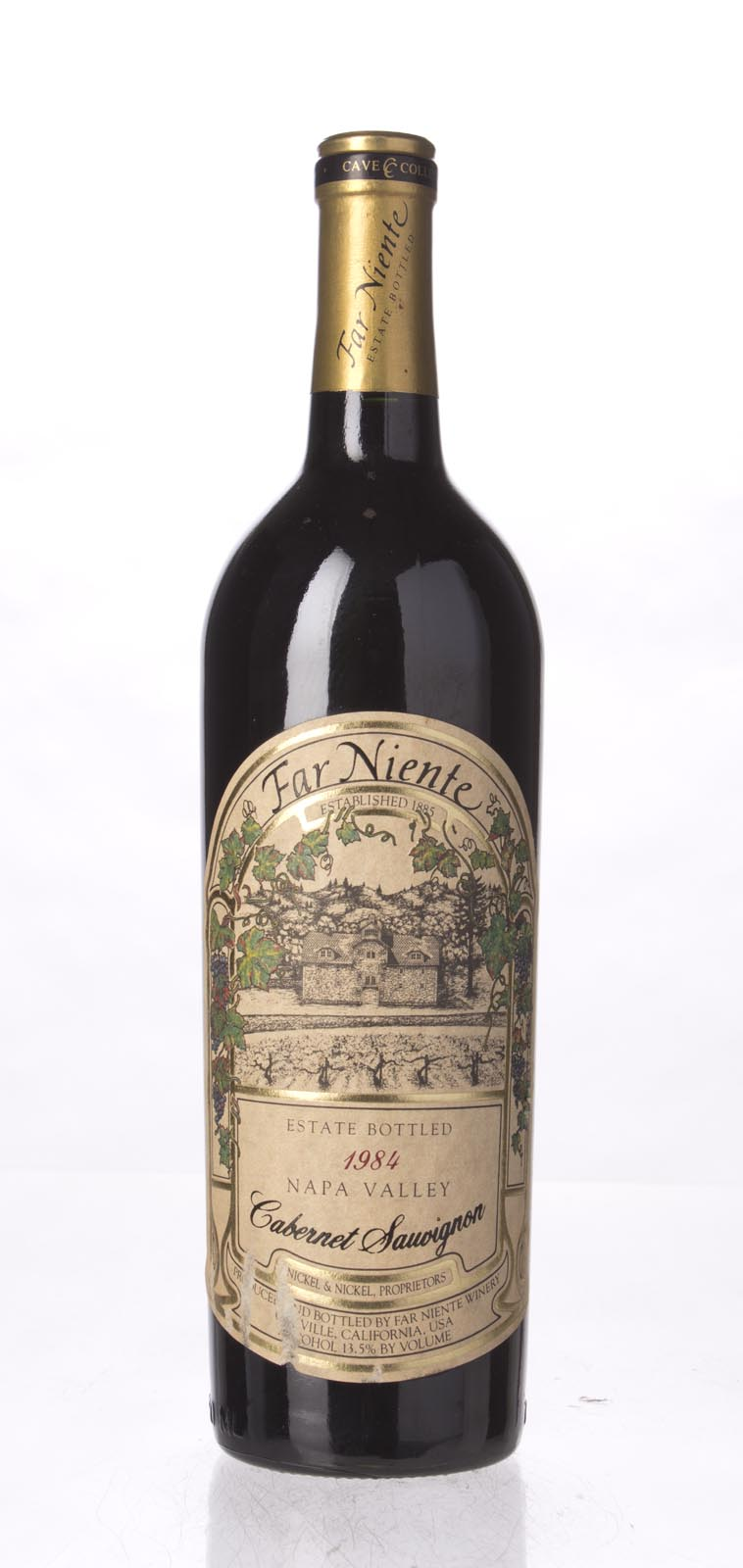 Far Niente Cabernet Sauvignon Cave Collection 1984, 750mL () from The BPW - Merchants of rare and fine wines.