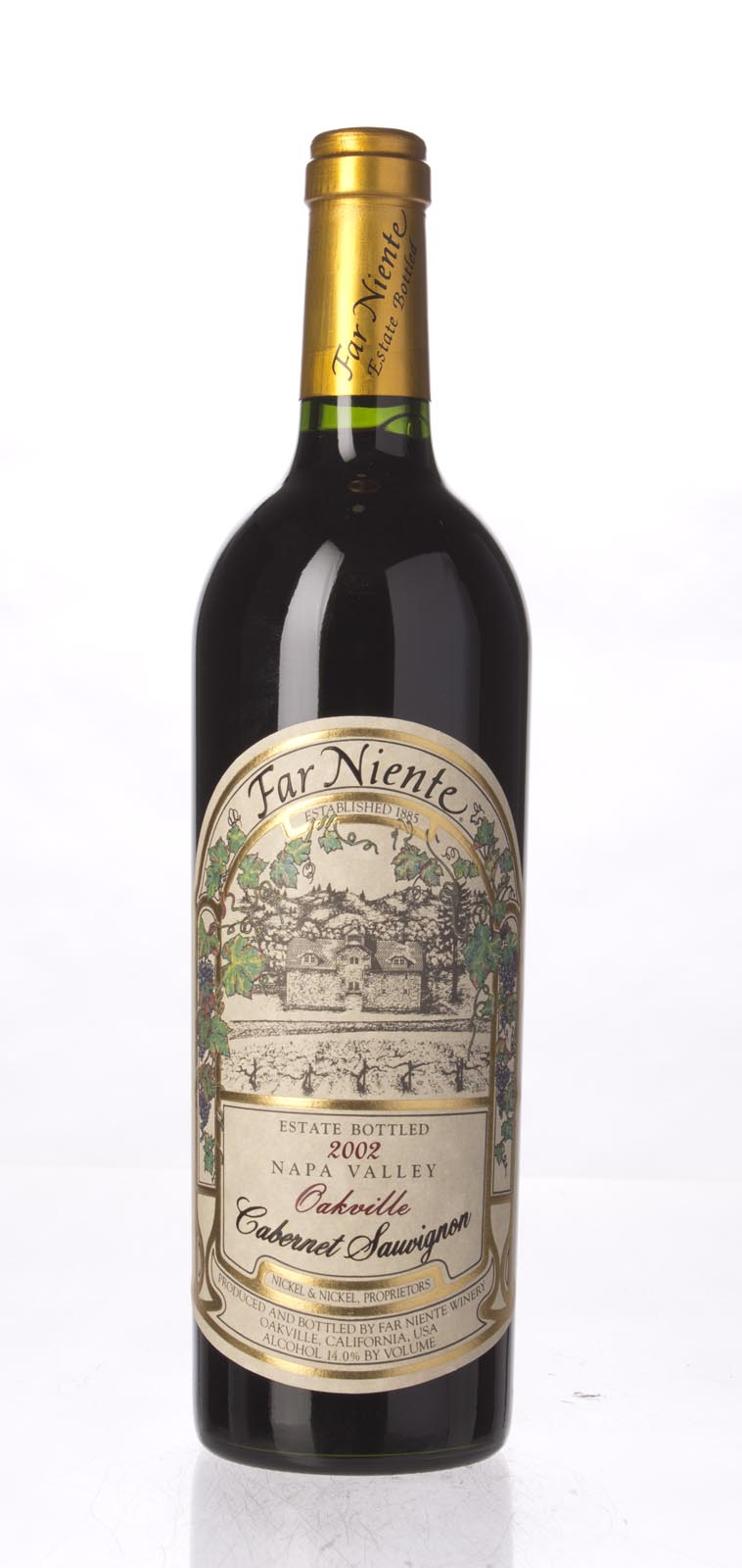 Far Niente Cabernet Sauvignon Oakville 2002, 750mL (WS93) from The BPW - Merchants of rare and fine wines.