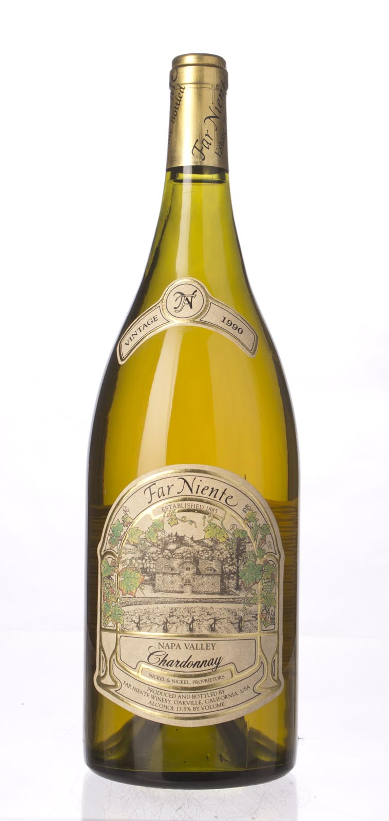 Far Niente Chardonnay Napa Valley 1990, 1.5L () from The BPW - Merchants of rare and fine wines.