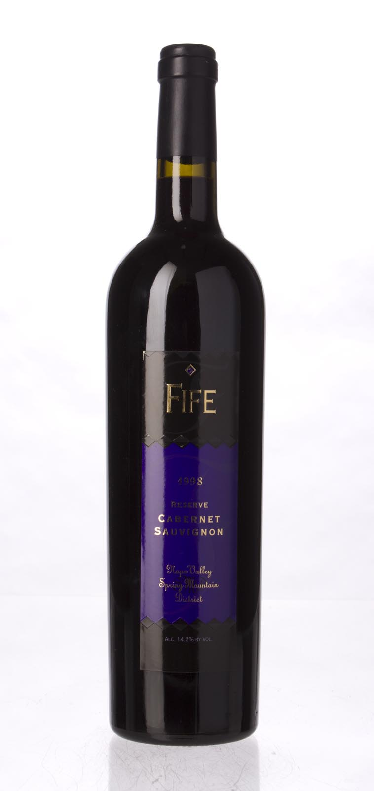 Fife Vineyards Cabernet Sauvignon Reserve 1998, 750ml () from The BPW - Merchants of rare and fine wines.
