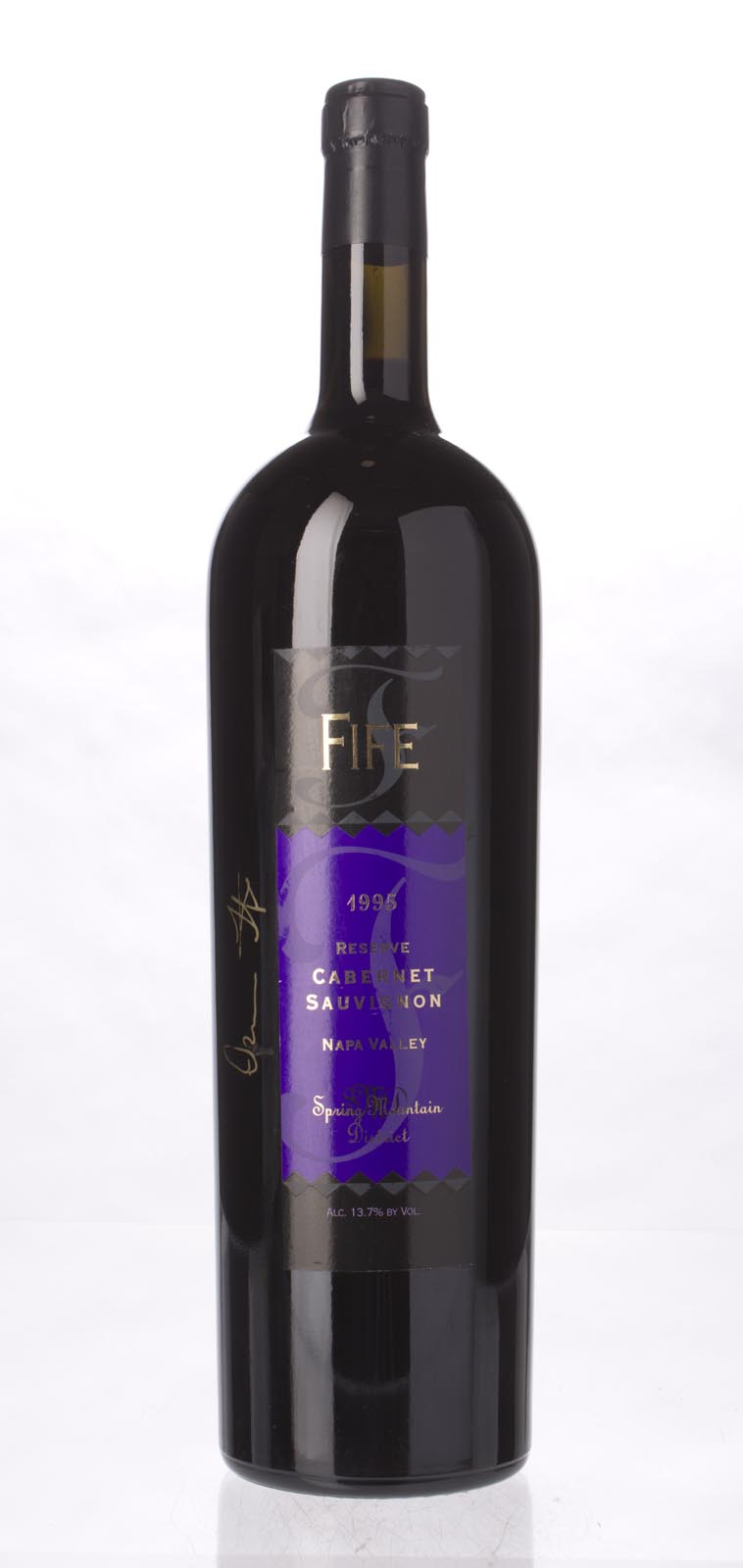 Fife Vineyards Cabernet Sauvignon Spring Mountain Reserve 1995, 1.5L () from The BPW - Merchants of rare and fine wines.
