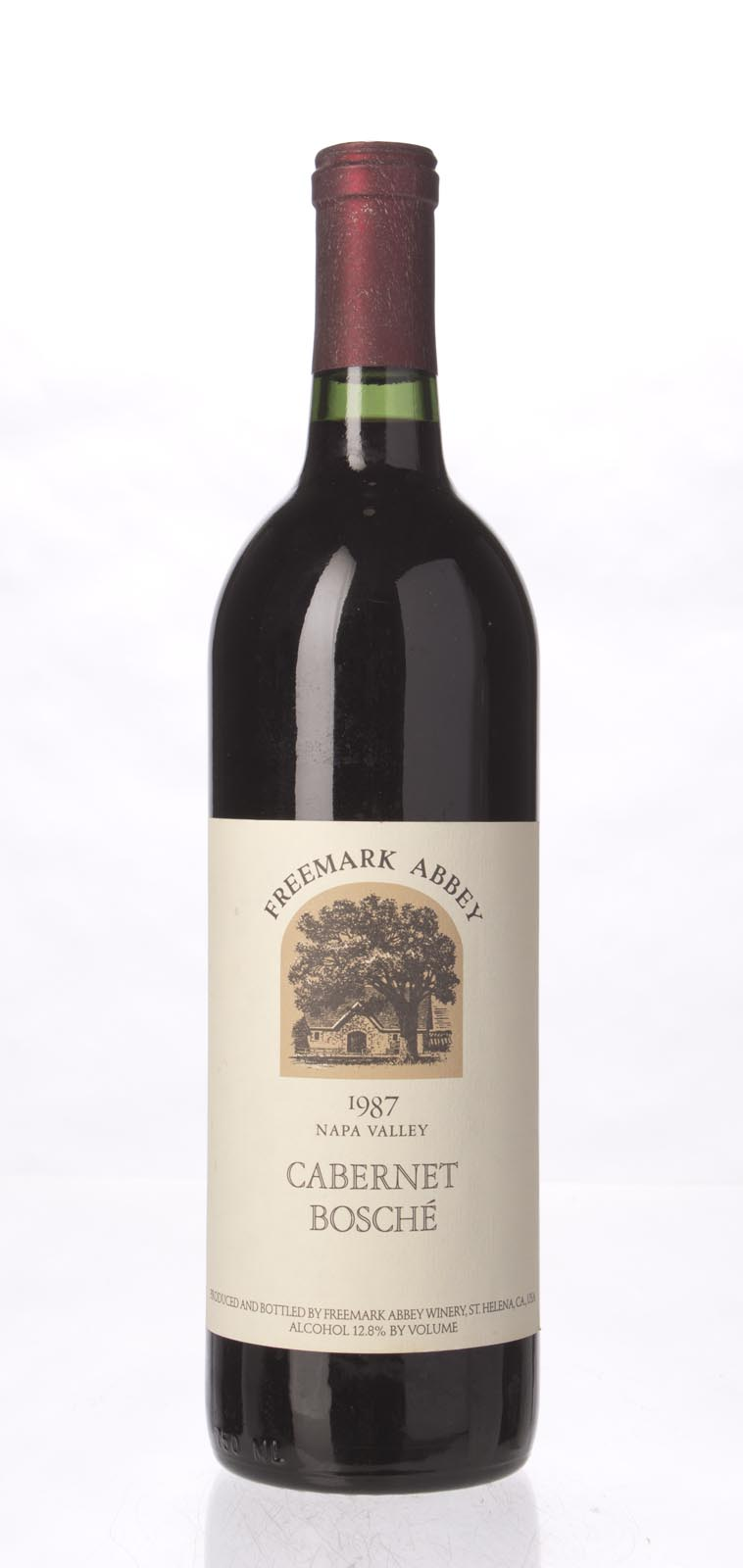 Freemark Abbey Cabernet Sauvignon Bosche Vineyard 1987, 750mL () from The BPW - Merchants of rare and fine wines.