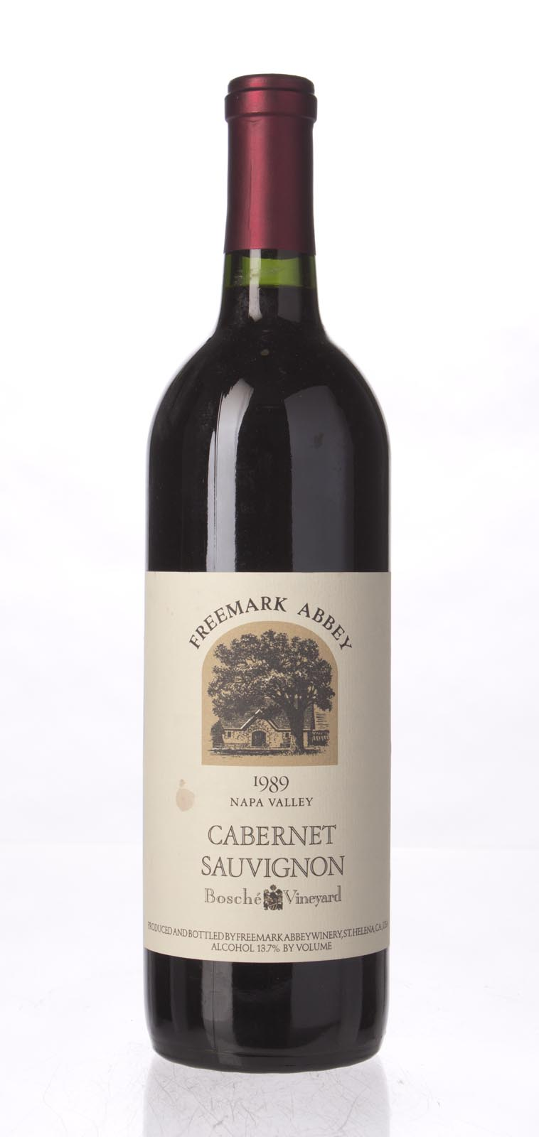 Freemark Abbey Cabernet Sauvignon Bosche Vineyard 1989, 750mL () from The BPW - Merchants of rare and fine wines.