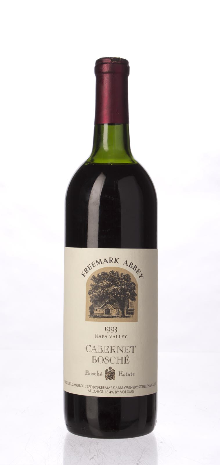 Freemark Abbey Cabernet Sauvignon Bosche Vineyard 1993, 750mL (WS92) from The BPW - Merchants of rare and fine wines.
