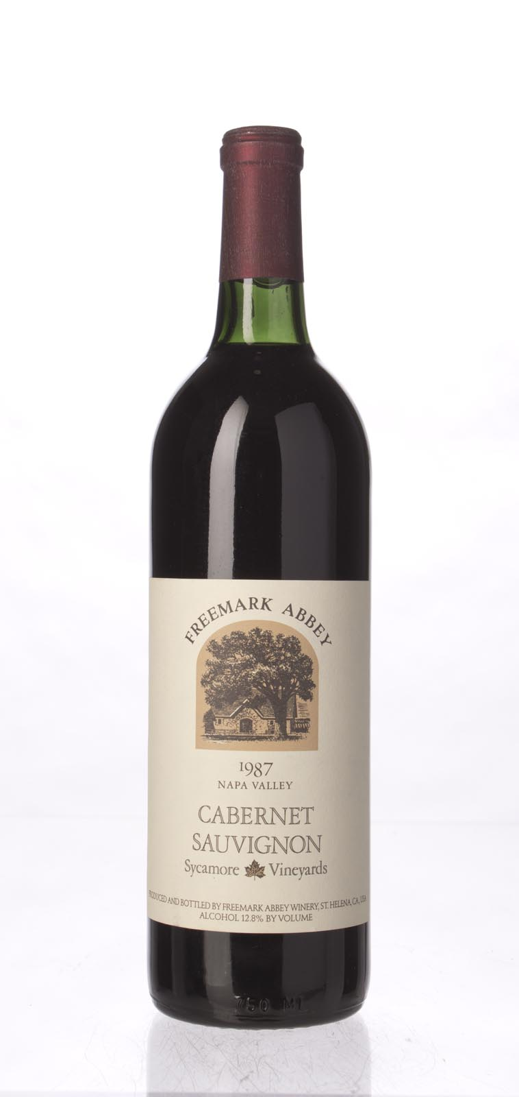 Freemark Abbey Cabernet Sauvignon Sycamore Vineyard 1987, 750mL () from The BPW - Merchants of rare and fine wines.